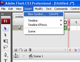 Урок как сделать кнопку flash adobe cs3